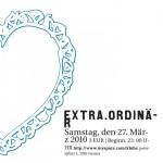 extra.ordinär, march 2010 @ KlubX