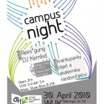 campus night, april 2010 @ WUK