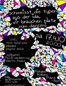 FrauenLesbenTrans*fest, april 2010 @ i:da