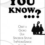 Did You Know ...? Jan 2011 @Morrison Club